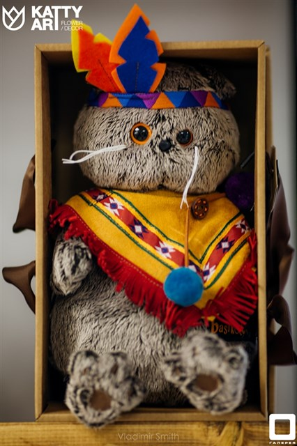 Басик в костюме индейца - фото 4819