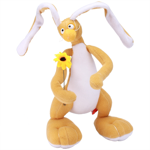 Мягкая игрушка заяц Федя - фото 4843