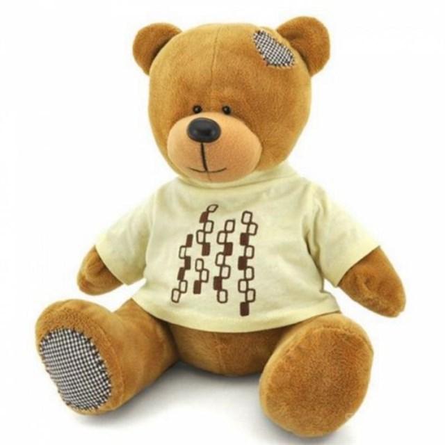 Мягкая игрушка Медведь топтыжкин коричневый (30 см) - фото 4847