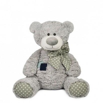Мягкая игрушка мишка Тео с заплаткой (24 см) - фото 4857
