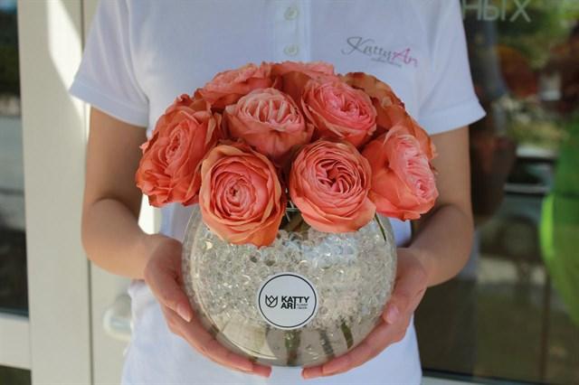 Розы в аквариуме - фото 4950