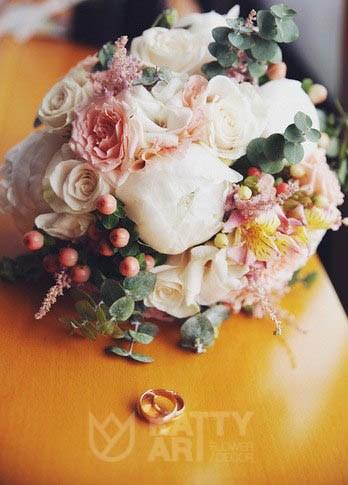 Букет для невесты от флористов KattyArtFlowers