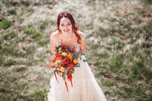 Свадебный букет невесты №6 - фото 4979