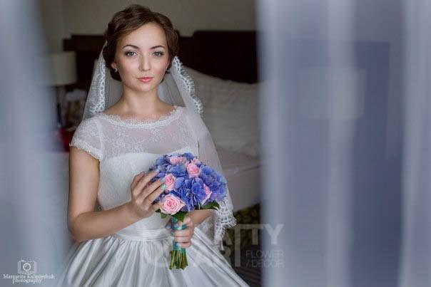 Свадебный букет невесты №8 - фото 4981