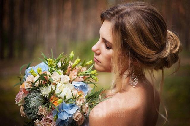 Маленький букет невесты