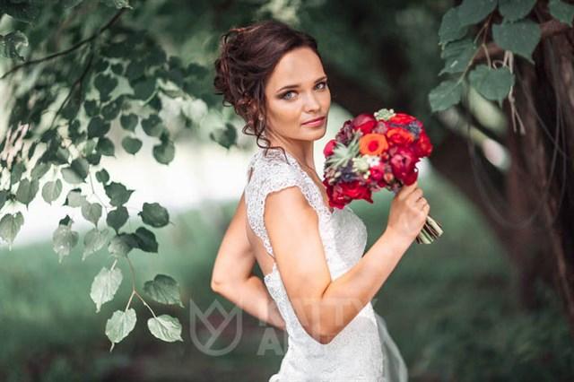 Авторский букет на свадьбу
