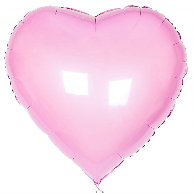 Воздушный шар Pink сердце 18 дюймов - фото 5469