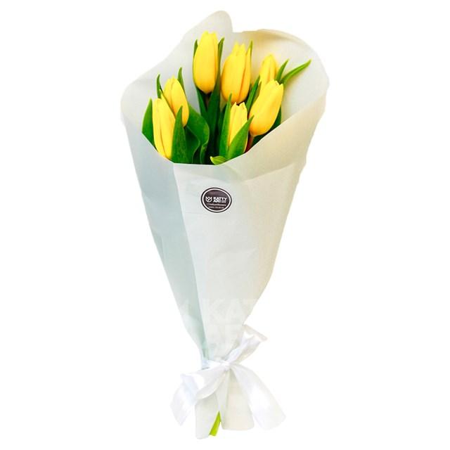 "Букет ""Тюльпаны"" (7шт) - фото 6038"