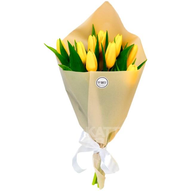"Букет ""Тюльпаны"" (9шт) - фото 6039"