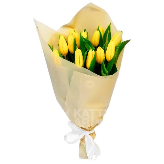 "Букет ""Тюльпаны"" (15шт) - фото 6041"