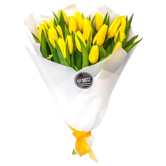 "Букет ""Тюльпаны"" (21шт) - фото 6042"