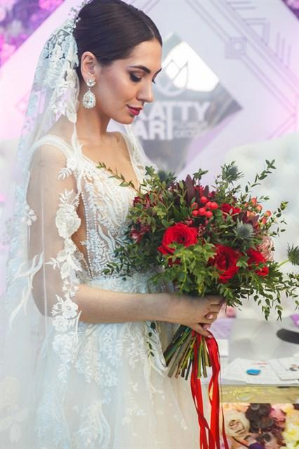 Свадебный букет №19 (1) | Интернет-магазин KattyArtFlowers