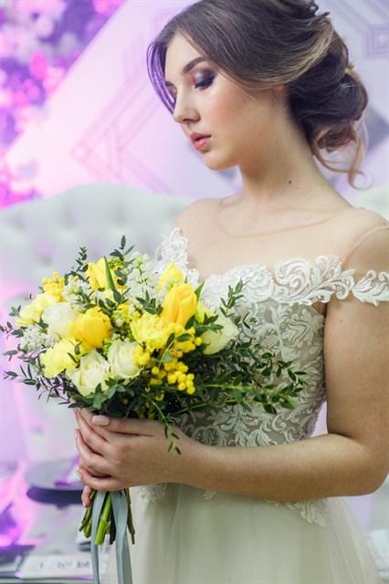 Свадебный букет № 20 - фото 6267