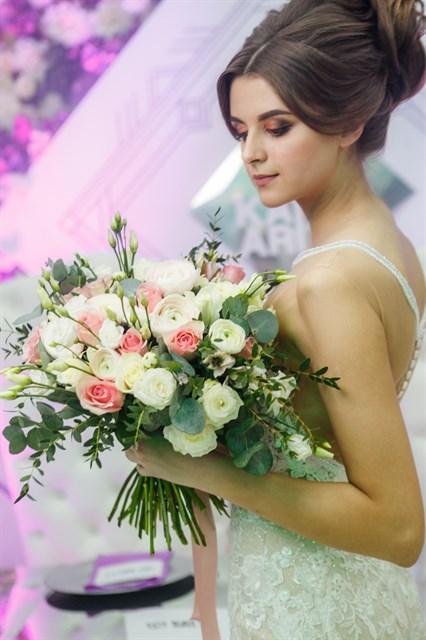 Свадебный букет № 21 - фото 6269