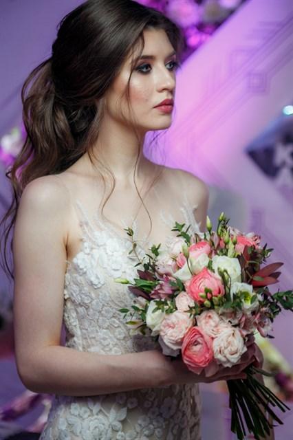 Свадебный букет № 23 - фото 6275