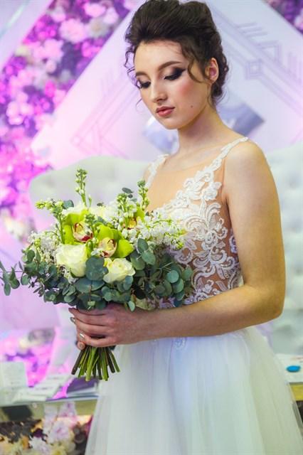 Свадебный букет № 24 - фото 6278
