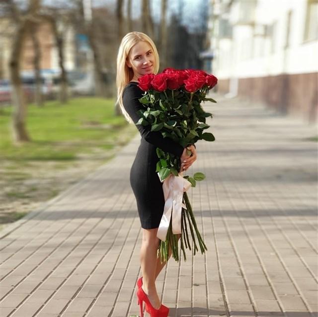 Букет из 35 красных роз 110см (Эквадор) - фото 7029