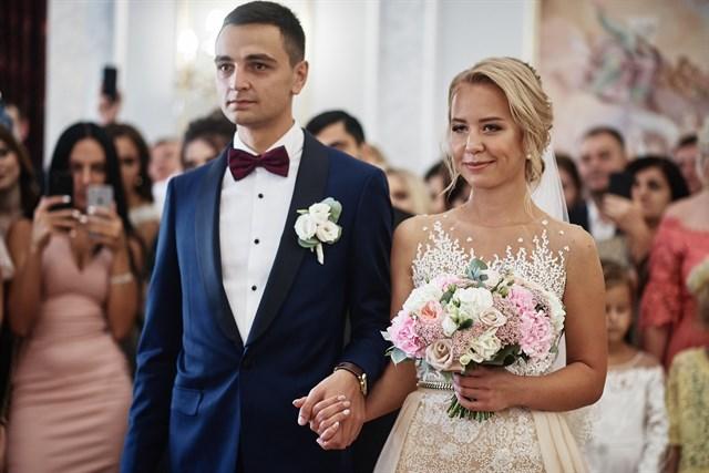 Роскошный свадебный - фото 7342