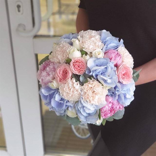 Свадебный букет №34 - фото 7445