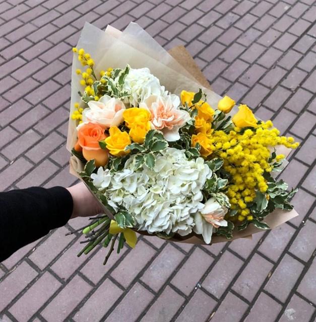 Первые цветы - фото 7818