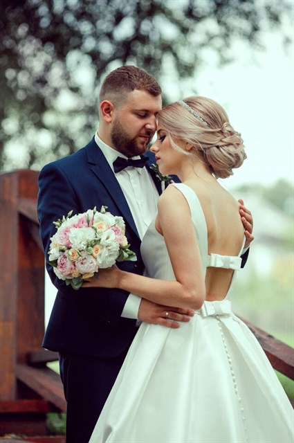 Букет невесты счастливый момент - фото 7823