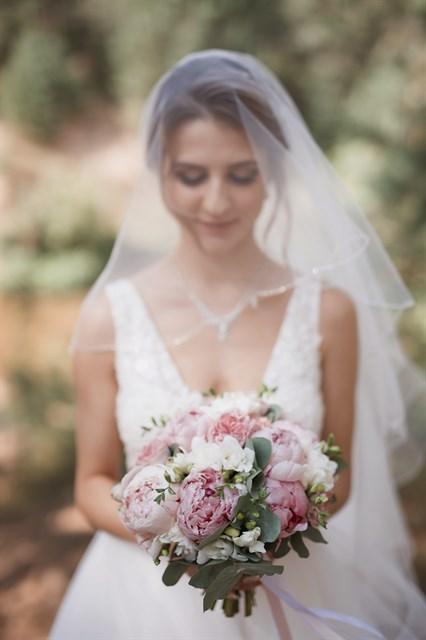 Букет невесты нежность - фото 7828