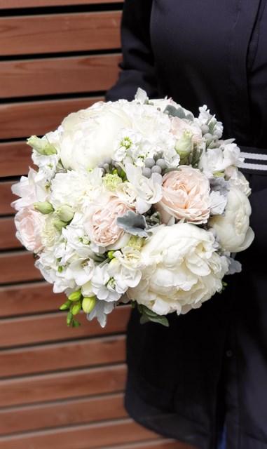 Свадебный букет воздушный поцелуй - фото 7834