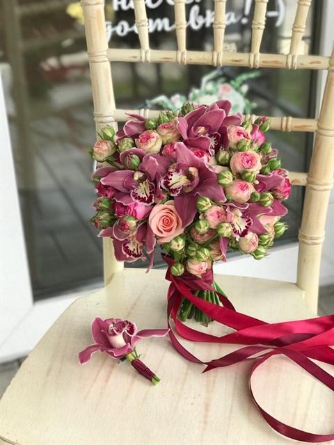 Букет невесты Ягодный день - фото 8151