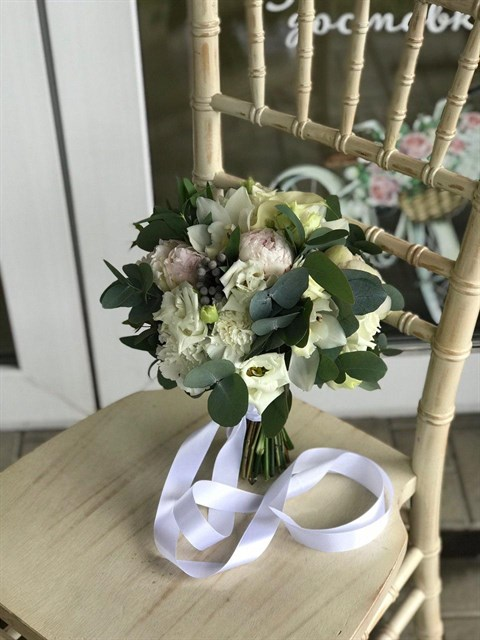 Букет невесты Счастливый день - фото 8190