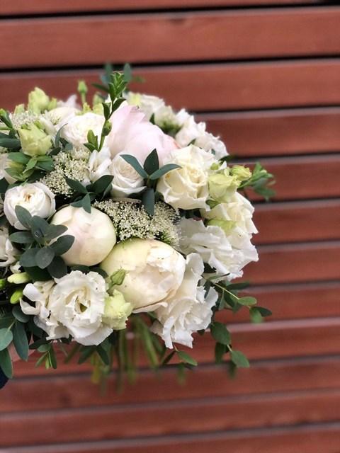 Букет невесты Нежное утро - фото 8206