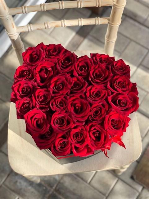 Сердце с розами - фото 8355