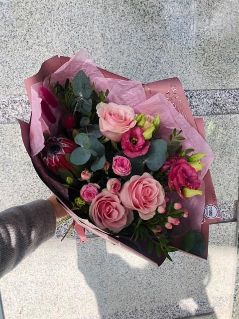 Розовый сироп - фото 8426