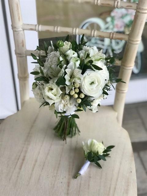 Букет невесты Чистый миг - фото 8743