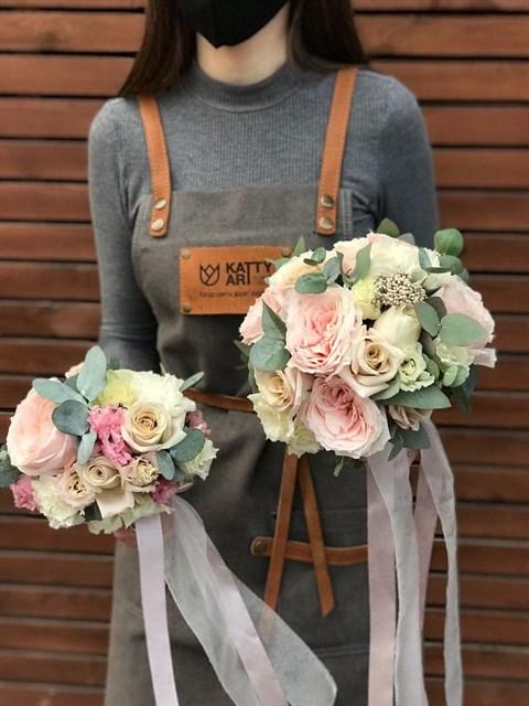Букет невесты Форма любви - фото 8772
