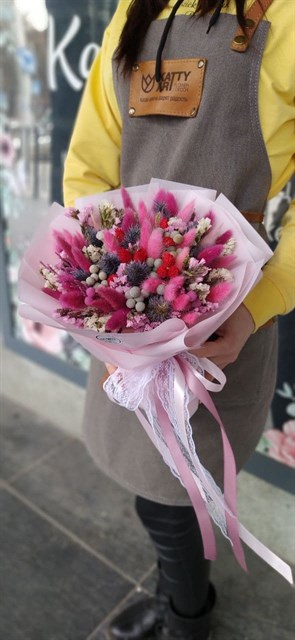 Букет из сухоцветов - фото 9006