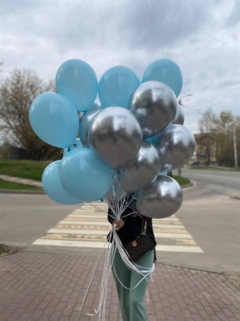 Микс воздушных шаров - фото 9020