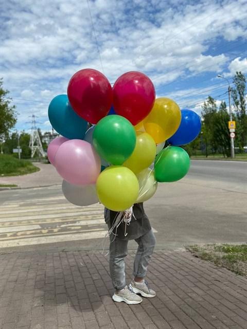 Разноцветные воздушные шары - фото 9029