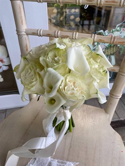 Букет невесты Белый сад - фото 9036