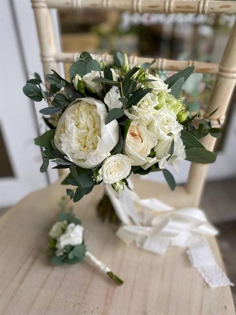 Букет невесты Кольца венеры - фото 9037