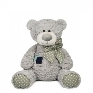 Мягкая игрушка мишка Тео с заплаткой (24 см)