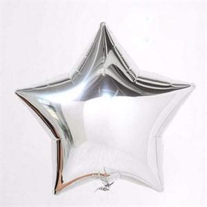 Воздушный шар Silver звезда 18 дюймов
