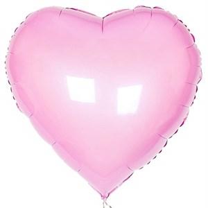 Воздушный шар Pink сердце 18 дюймов