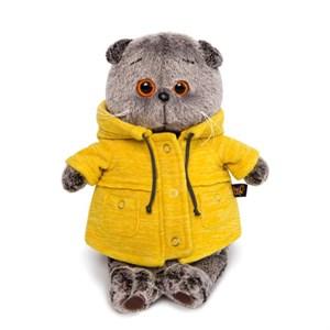 "Басик в желтой куртке ""B&Co"" (30см)"