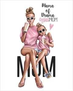 Открытка Mama of Drama