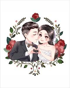 Свадебная открытка 1