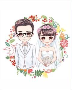 Свадебная открытка 4