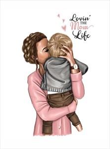 Открытка Mom Life (120мм)