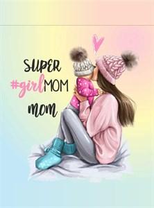 Открытка Super girlMom