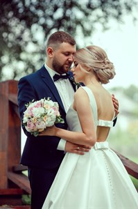Букет невесты счастливый момент