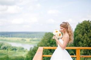 Свадебный букет очарование